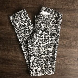 🌟 AG The Legging Super Skinny Cord White/Black